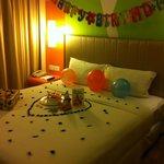 Love the birthday room!