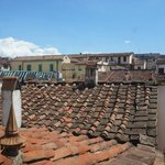 Mansarda: view over rooftops