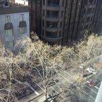 View of Queen street from top floor room