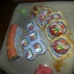 From top to bottom: Crazy Salmon, Philly, and Chen Special.   All amazing!