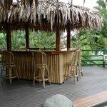 Bar next to pool