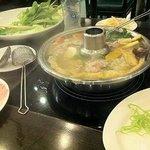 タイスキの鍋