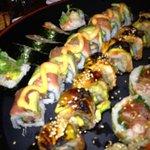 Delicious Bizen sushi rolls!