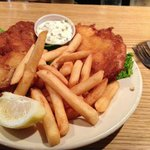 Fish and chips, if you get by on a Friday!