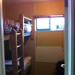 Le minuscule dortoir de 4 !