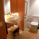 Baño adaptado a persones con mobilidad reduc