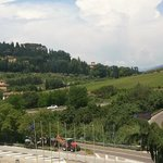 View of Chianti Hills from room