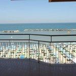 panorama dalla camera fronte-mare...