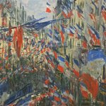 Rue Saint-Denis by Monet