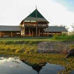 Camp Chobe main reception/dining area