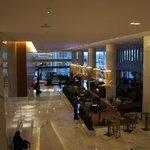 Lobby area and bar