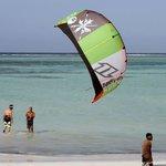 Teaching kitesurfing in Matemwe, enjoy space!!