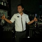 the best barman you will ever meet at the grand ideal premium!!!!!!