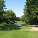 The 'Infamous 4th' the hardest par 3 in England