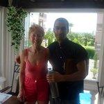 Anne with Nigel