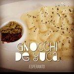 yuca gnocchi