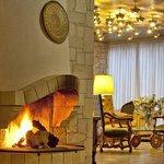 Akali Hotel Fireplace