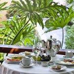 Akali Hotel Breakfast In Veranda Area