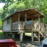 Cabin we rented