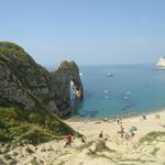 Durdle Door is only a 10 minute drive away.