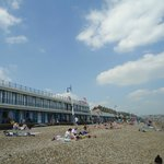 Weymouth Beach - only 10-15 minute drive away.