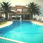 Early evening view of Tsaros Pool Bar