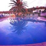 Pool area at Tsaros