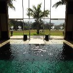 Very nice spa out to golf course