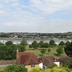 View ober the Medway from the Riverview room