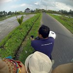 Gusti touring me around Ubud