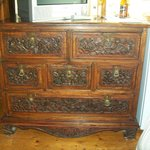 A piece of antique furniture in our room