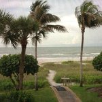 view from ocean's reach condos on sanibel island, fl