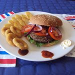 Black Angus hamburger