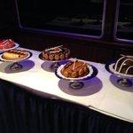 Payard deserts served at World Yacht