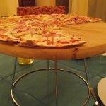 ¡Exquisita pizza!