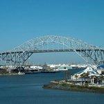 Harbor Bridge & Texas State Aqurium