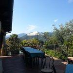 una veduta dal terrazzino del ristorante
