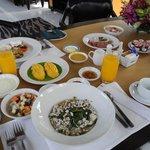 Frühstück Villa