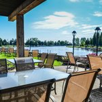 licensed waterfront patio