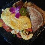 Summer's Bounty omelet