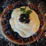 Lemonberry Belgium waffle