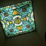 techo de vitral