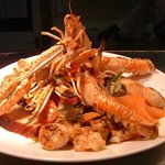 Kintyre Langoustines with Garlic Butter Sauce