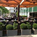 La terrasse Giardini Veneti