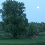 "'SUPER MOON"" while staying at lodge!"