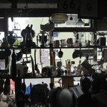 Shop window from inside