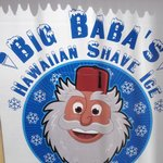 Big Baba's you an have some shave ice and watch the waves