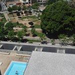 piscina desde la habitación
