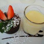 Ah le moelleux au chocolat, délicieux!!!