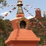 Amitabha Stupa--walking distance from B&B